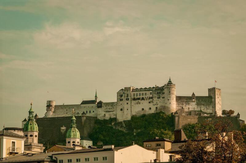 Die Hohensalzburg in Salzburg