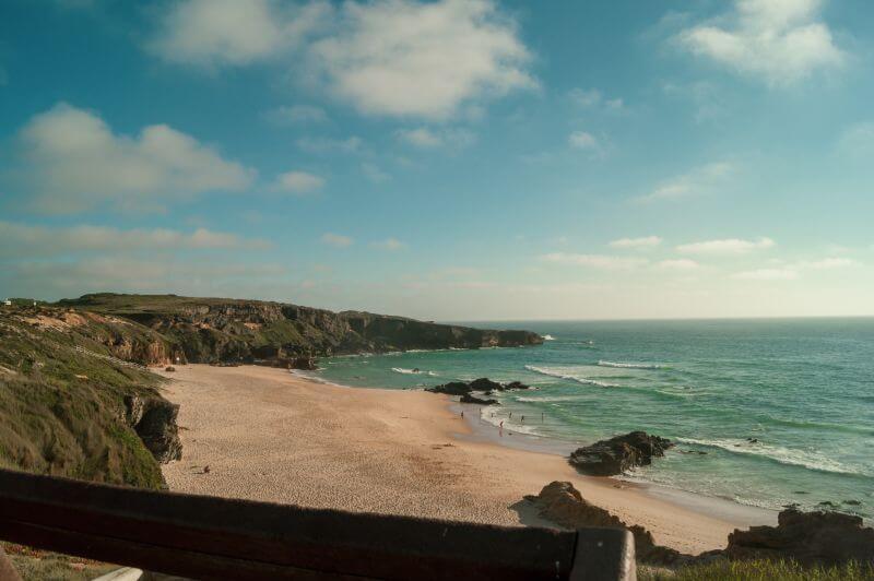 Praia do Malhão im Westen der Algarve