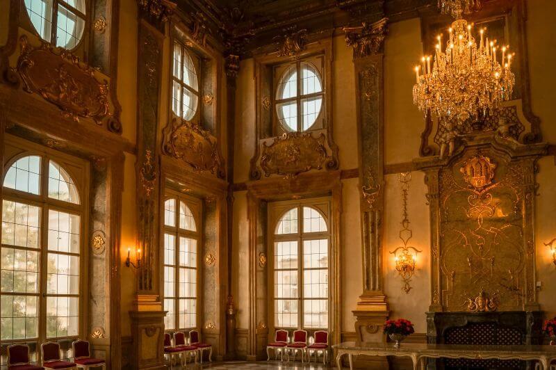 Marmorsaal im Schloss Mirabell in Salzburg