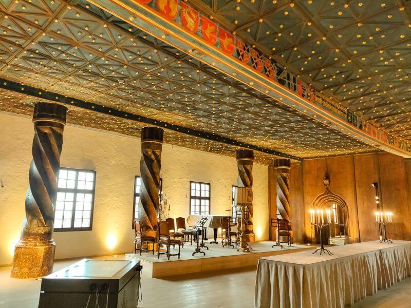 Fürstenzimmer in der Hohensalzburg in Salzburg
