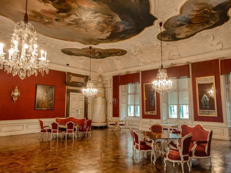 Prunkräume der Residenz im Domquartier in Salzburg