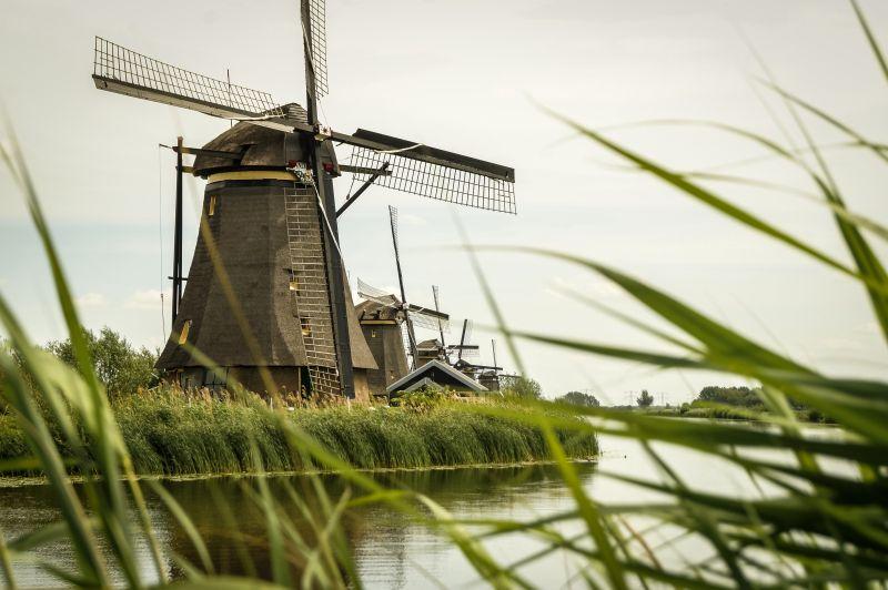 Windmühlen in Kinerdijk