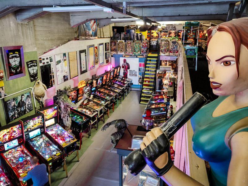 Dutch Pinball Museum in Rotterdam