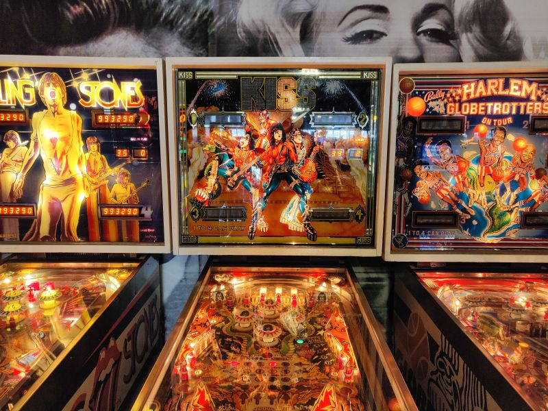 Flipper im Dutch Pinball Museum