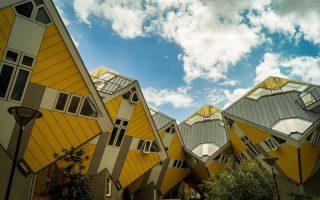Kubus Häuser in Rotterdam