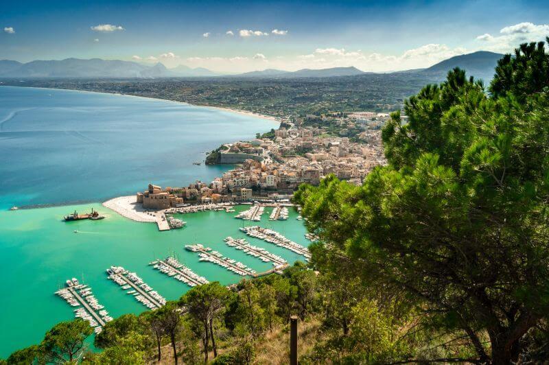Aussicht auf Castellammare