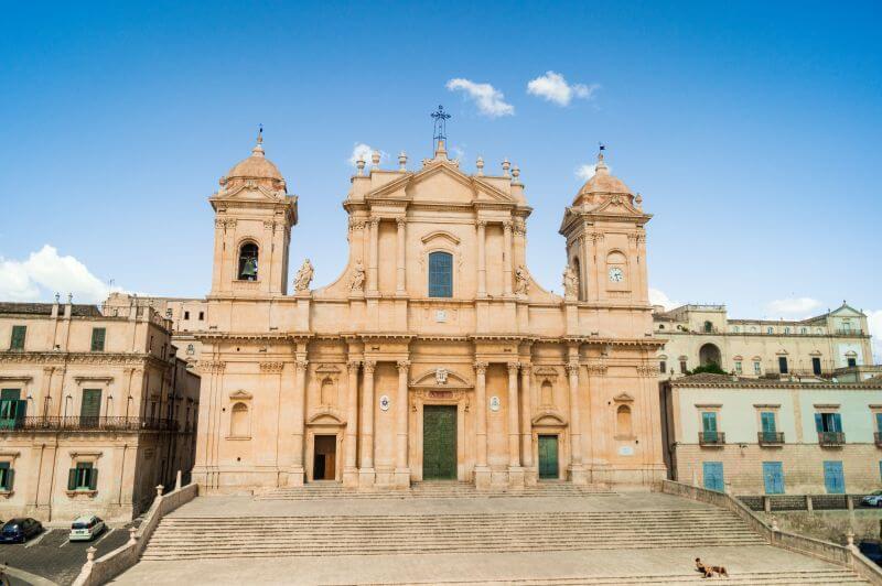 Kathedrale von Noto auf Sizilien