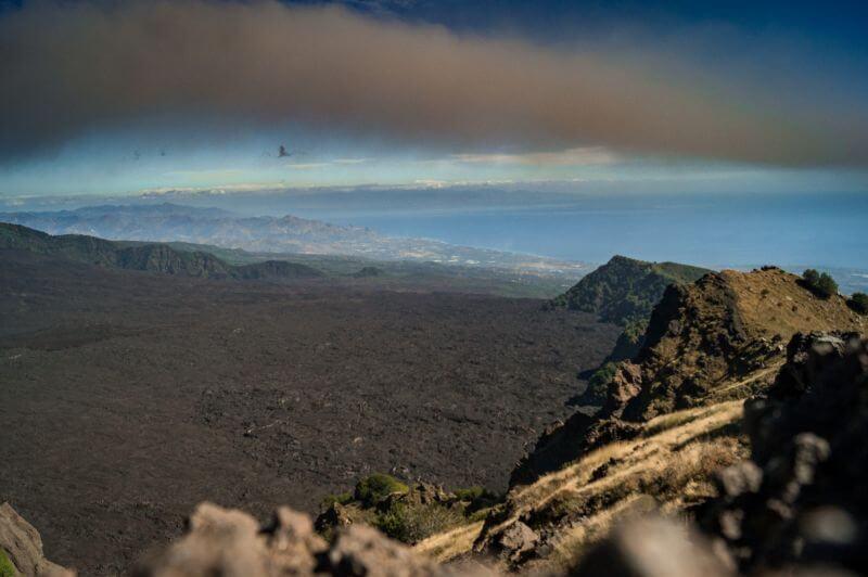 Tal der Ochsen am Etna auf Sizilien