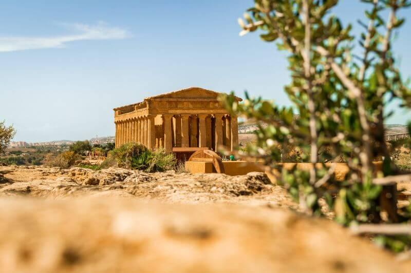 Sizilien Rundreise: der Concordiatempel Tal der Tempel