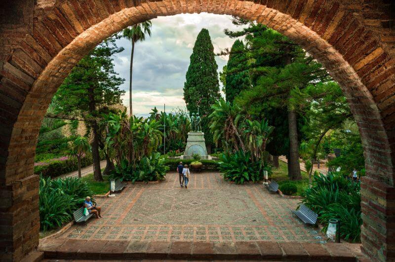 Botanischer Garten von Taormina auf Sizilien