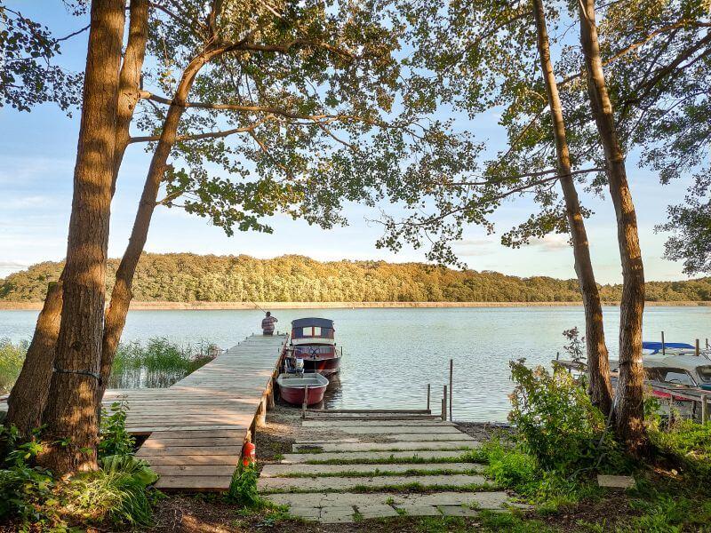 Campinplatz am Jabelschen See