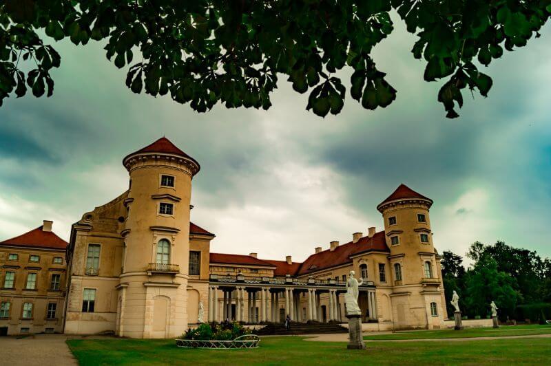 Deutsche Alleenstrasse Schloss rheinsberg