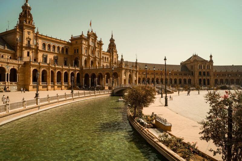 Plaza de Espanha in Sevilla