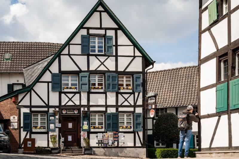 Gaststätte Vennen Fachwerkhaus