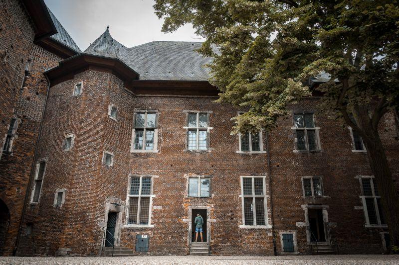 Museum Burg Linn von innen