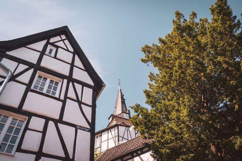 Tuschmacherplatz in Kettwig