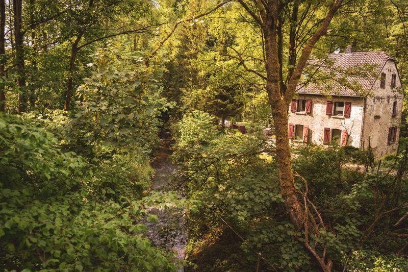 Der Rinderbach im Vogelsanger Bachtal