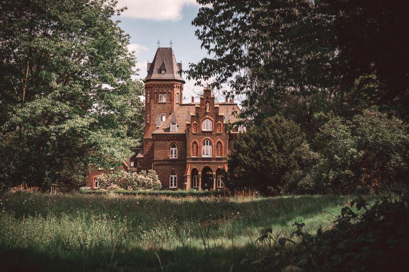 Marienburg mit Garten
