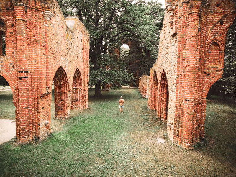 Klosterruine Eldena in Greifswald