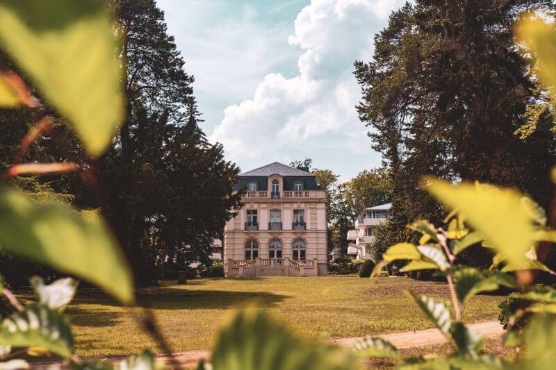 Villa in Heringsdorf Bäderarchitektur