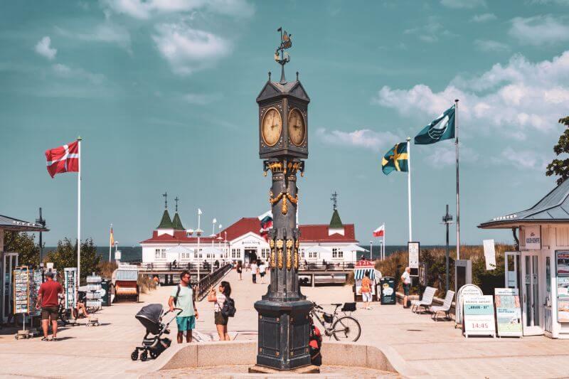 Historische Uhr Ahlbeck