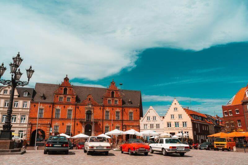 Rathaus in Glücksstadt