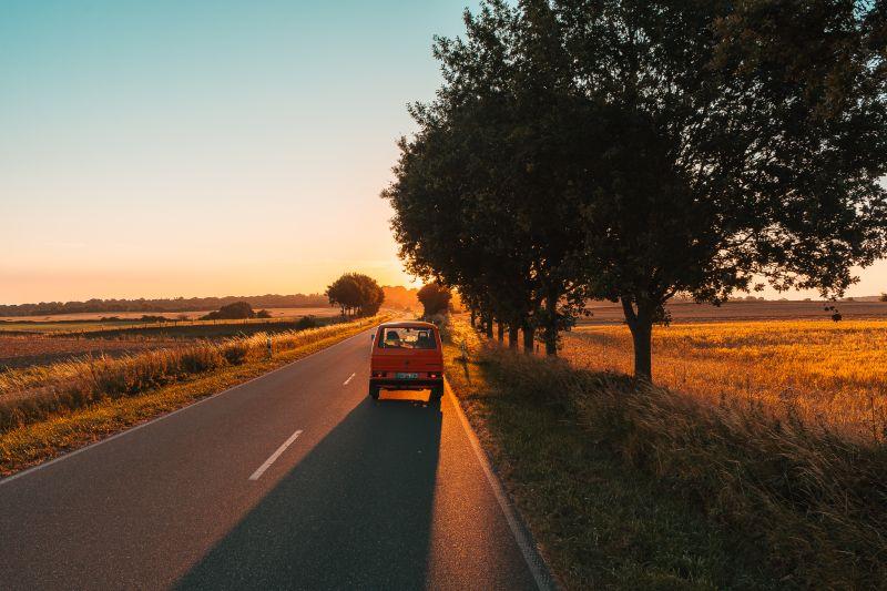 Mit dem Van durch Norddeutschland
