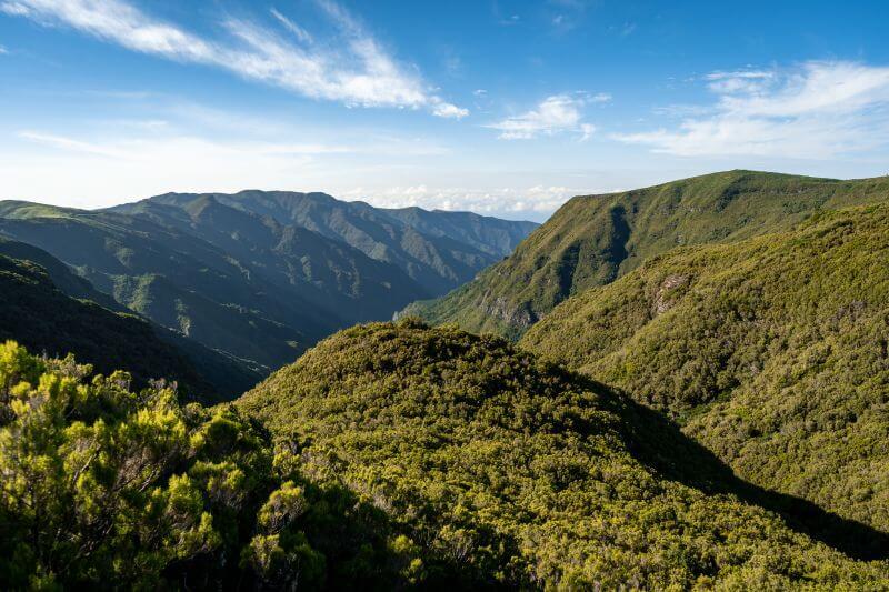 Rabacal grüne Berge