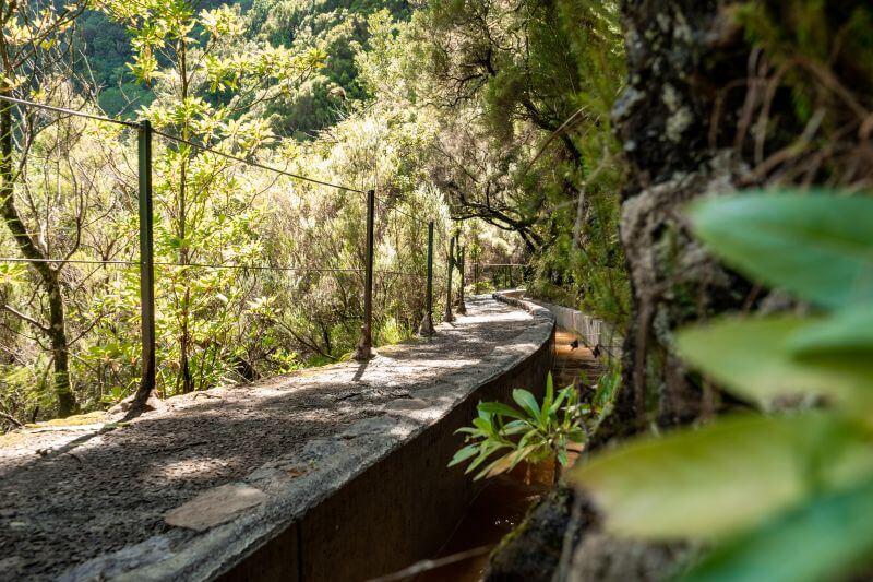 Levada Wanderweg auf Madeira