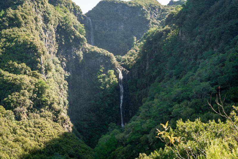 Terrassen der Risco Wasserfälle