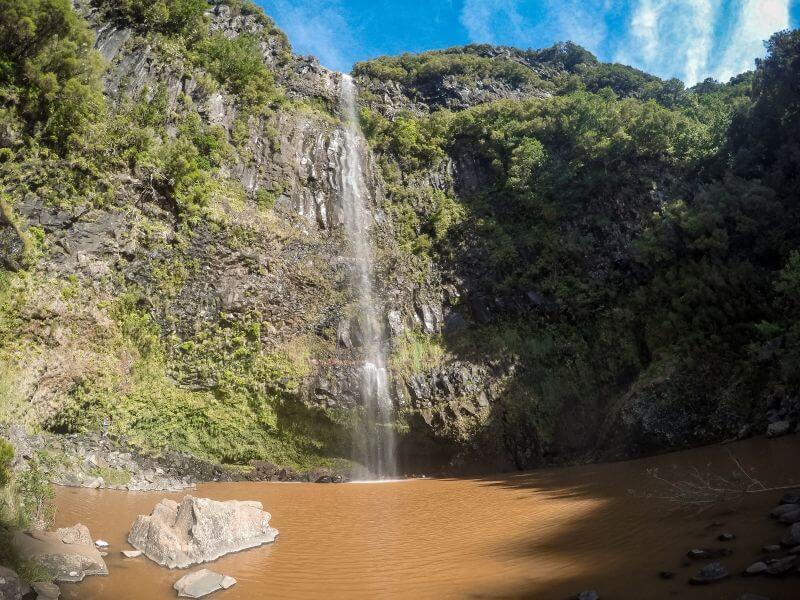 Risco Wasserfall Lago di Vento