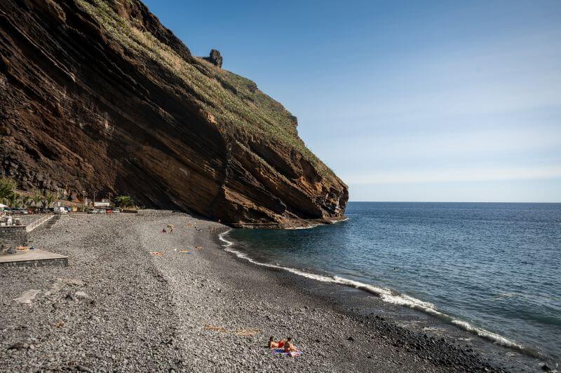 Madeira Strand Praia do Garajau