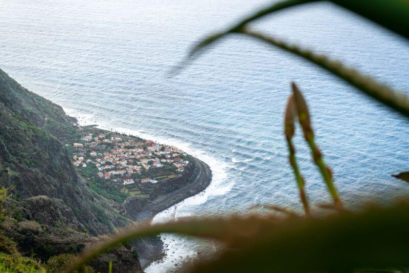 Jardim do Mar von oben