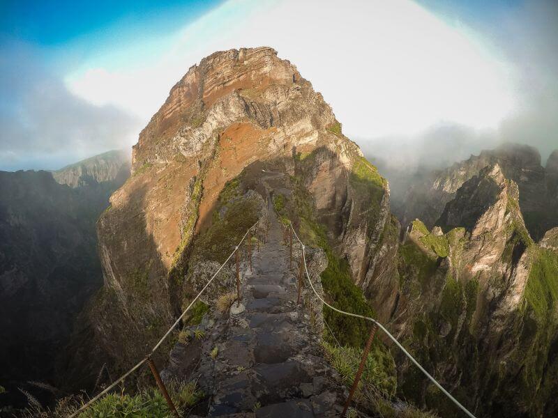 Pico Ruivo PR1 Wanderweg