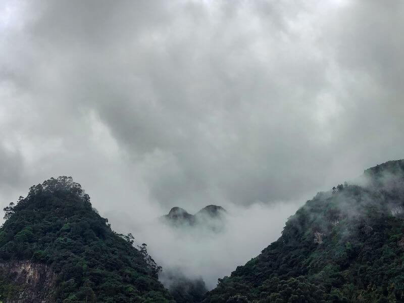 Berge Küste Madeira