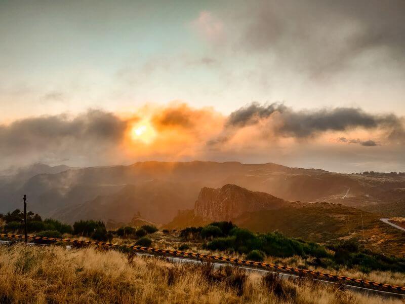 Sonnenaufgang Pico do Airerio