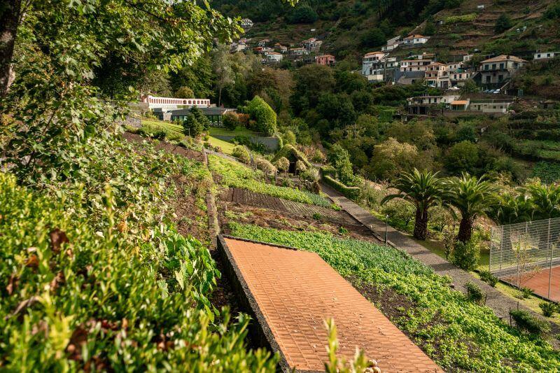Quinta da Serra Hotel Garten