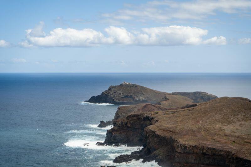 Ilhéu do Farol Leuchtturm – der Farol da Ponta de São Lourenço