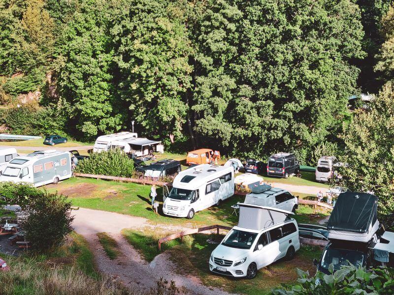 Campingplatz Rursee Nationalpark Eifel
