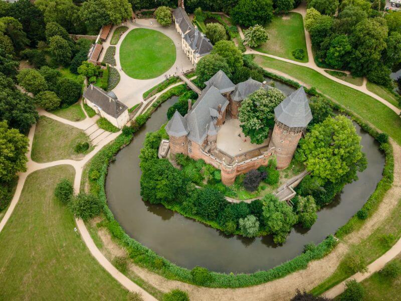 Burg Lynn von oben