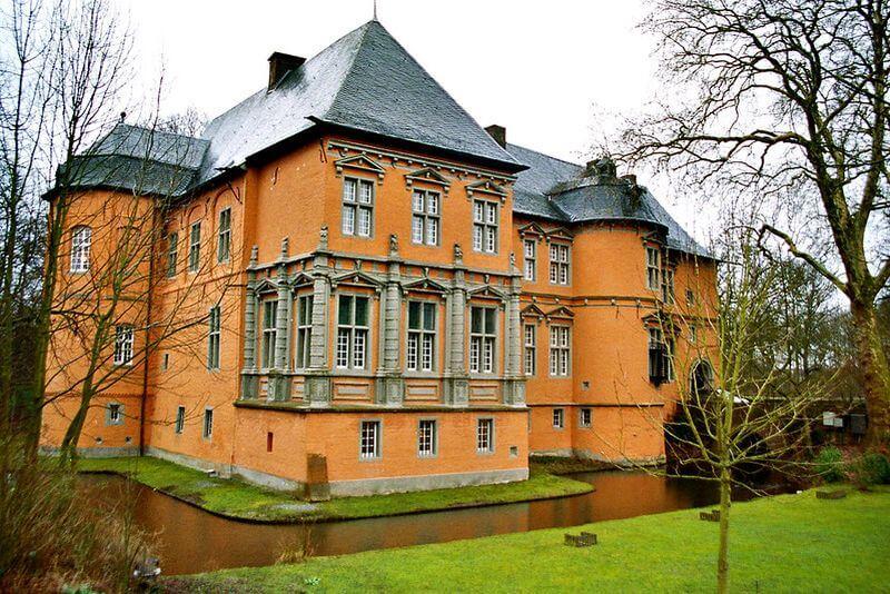 Schloss Rheydt von außen