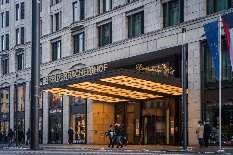 Breidenbacher Hof Eingang