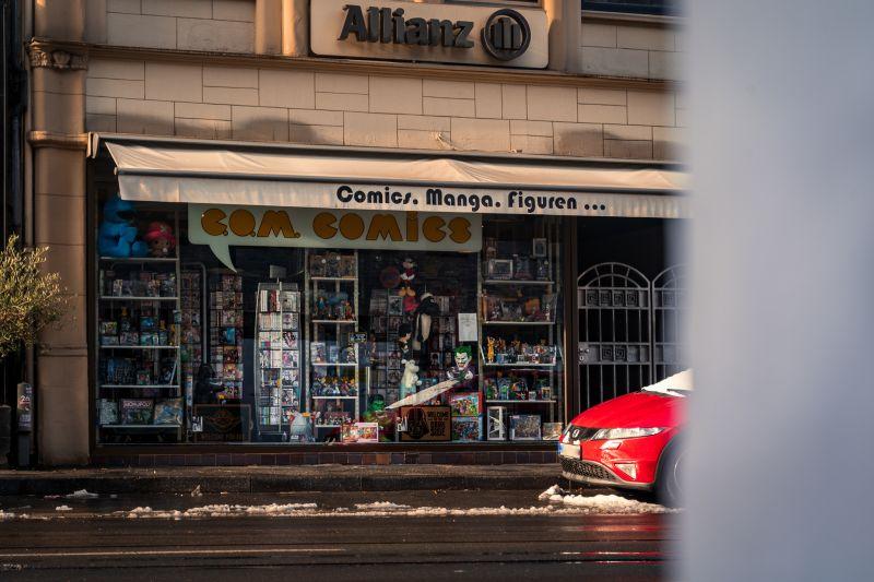 Com Comics in Little Tokyo Düsseldorf