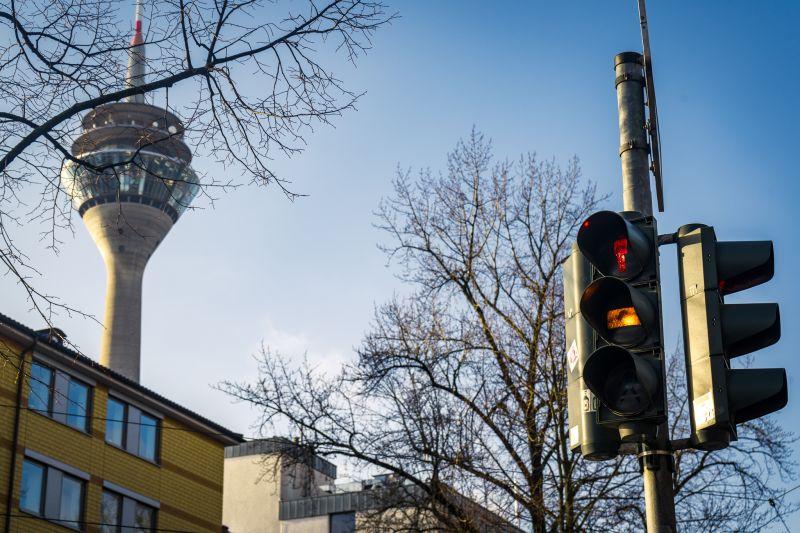 Düsseldorfer Ampeln