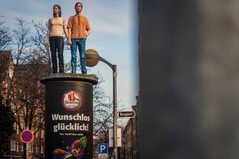Düsseldorf Sehenswürdigkeiten Säulenheilige