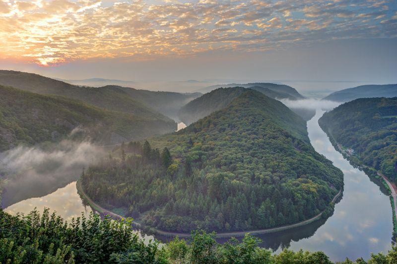 Wochenendtrips Deutschland: Saarschleife im Saarland