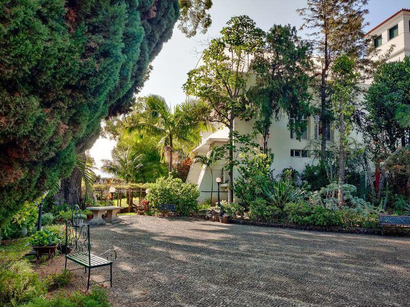 Madeira Unterkuenfte Quintinha de Sao Joao Garten