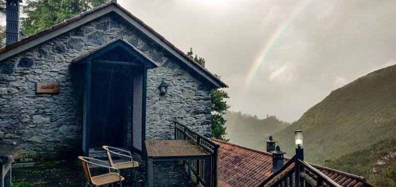 Madeira Unterkuenfte Ribeiro frio cottages aussen