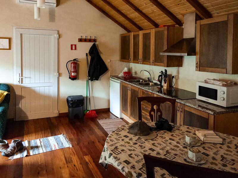Ribeiro frio cottages kueche