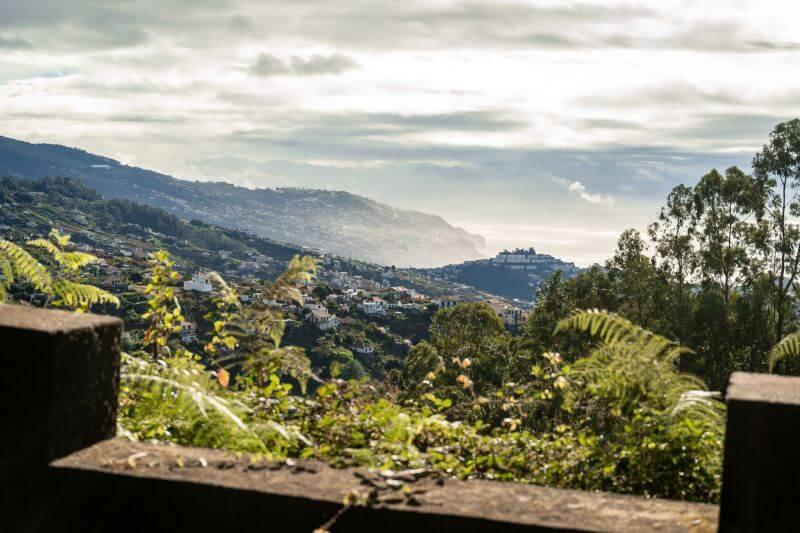 Quinta da Serra ausblick strasse